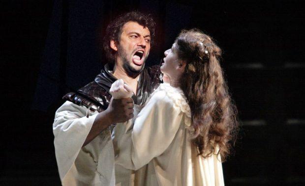 Fotografía de la representación de la ópera de Otelo