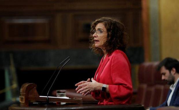 La ministra de Hacienda, María Jesús Montero. / EFE