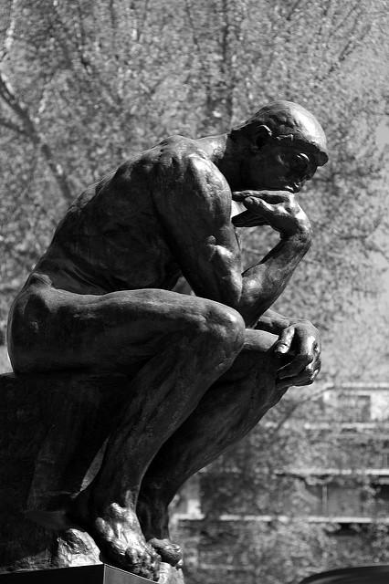 Escultura 'El pensador' de Auguste Rodin (Máximo López)