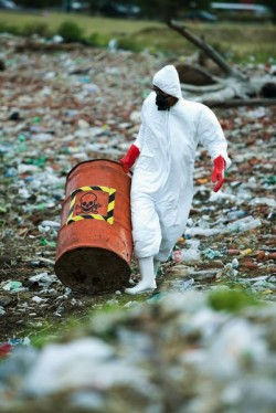 Limpieza de residuos nucleares