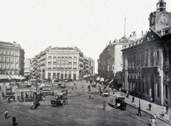 Puerta del Sol tras su reforma (1885)
