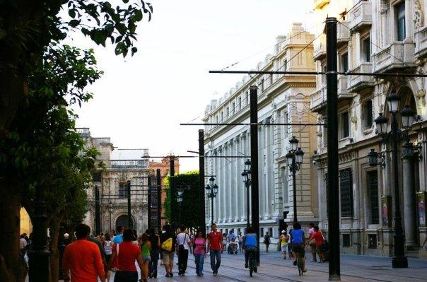 Sevilla movilidad sostenible