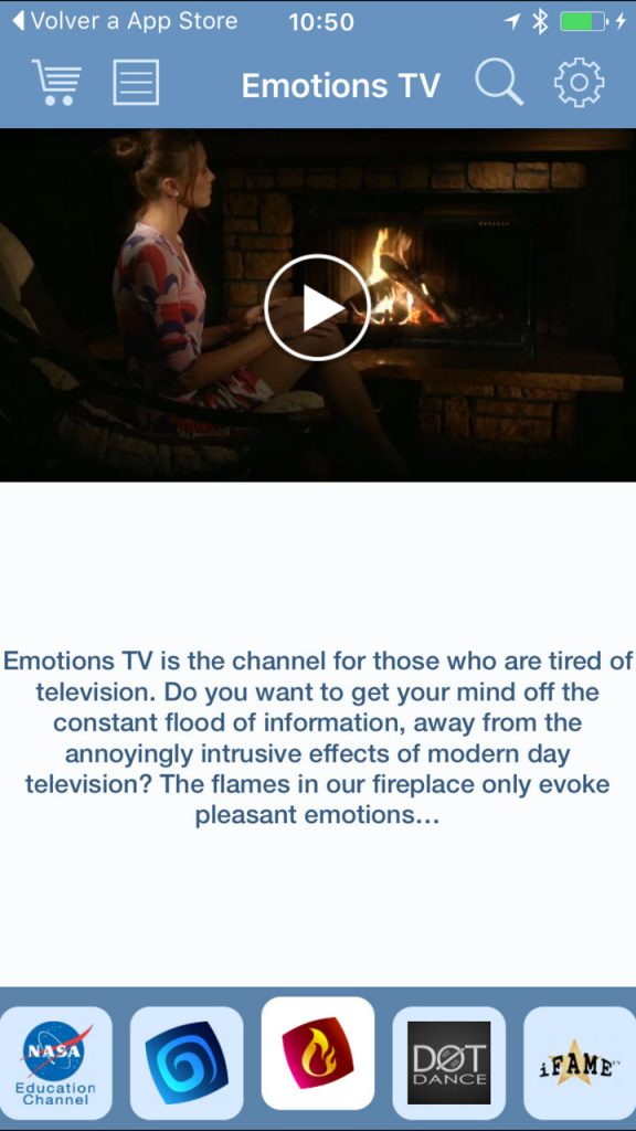 (Emotions TV en la app SPB TV)