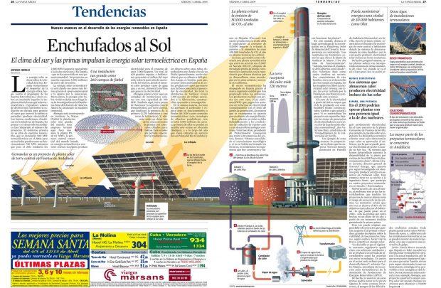 (Energía termoeléctrica. Estudio Sicilia. La Vanguardia)