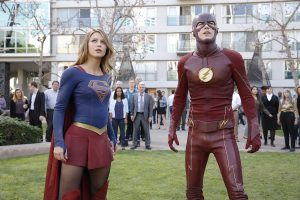 Supergirl y The Flash