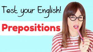 ¿Puedes pasar este test de preposiciones en inglés?