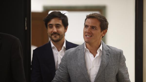 Toni Roldán y albert Rivera