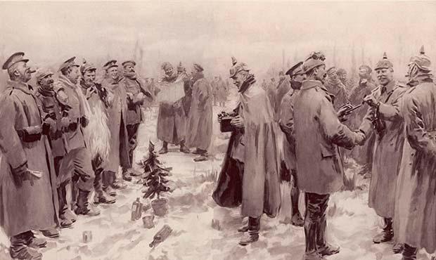 tregua de navidad de 1914 bayona