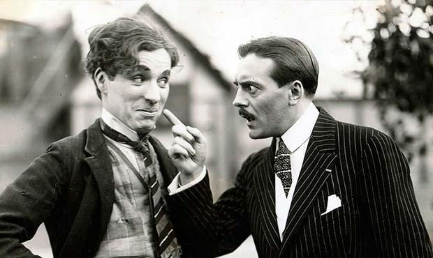 Charles Chaplin y Max Linder