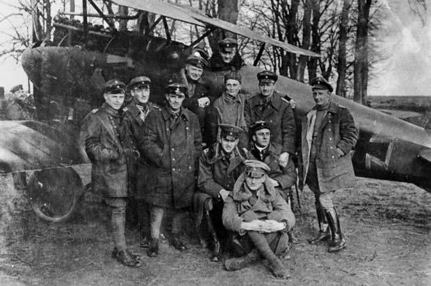Manfred von Richthofen el baron rojo