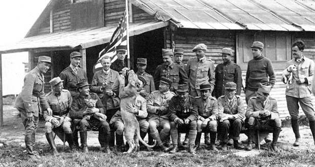 escuadrilla lafayette 1917