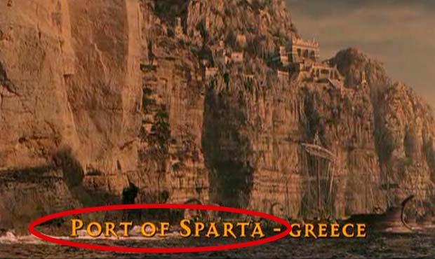 error historico troya puerto de esparta