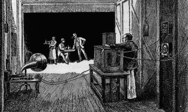 Ilustración del interior del Black Maria