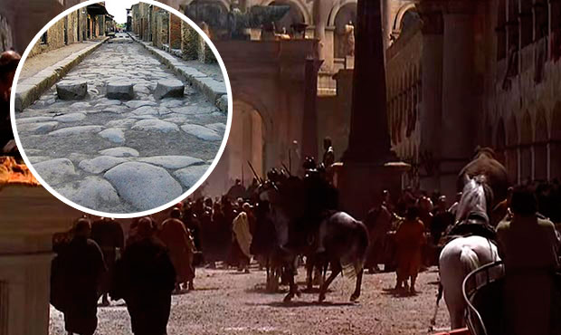 error historico gladiator suelo roma