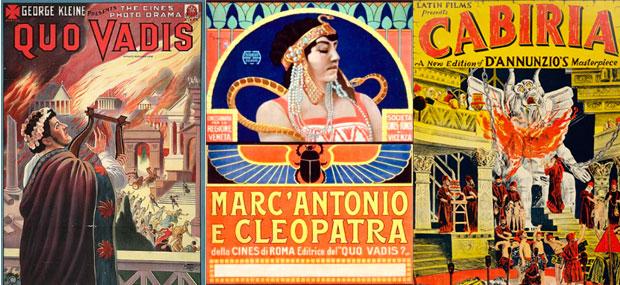 quo vadis marcantonio e cleopatra y cabiria