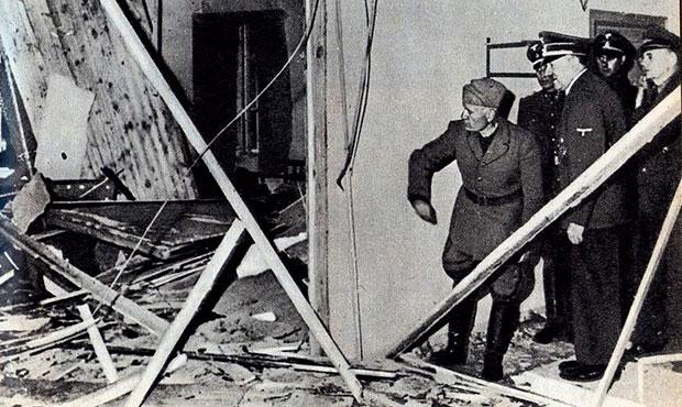 guarida del lobo Mussolini Hitler