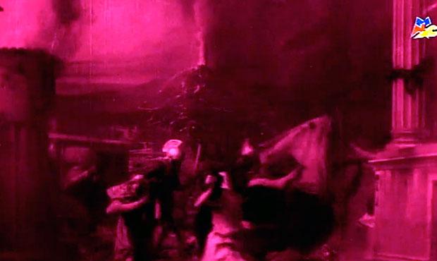 La destruccion de Pompeya 1908