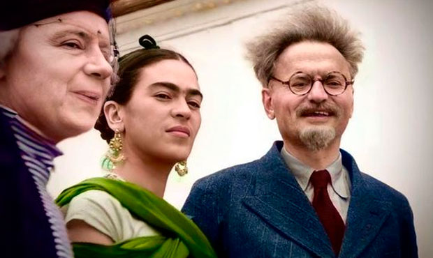 Trotsky Frida Kahlo
