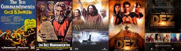 carteles los diez mandamientos