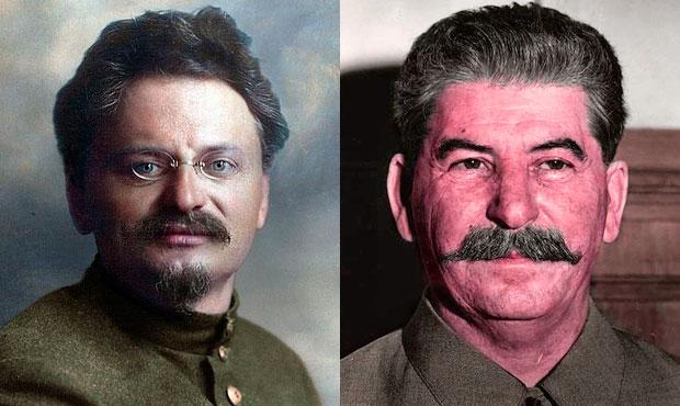 trotsky stalin