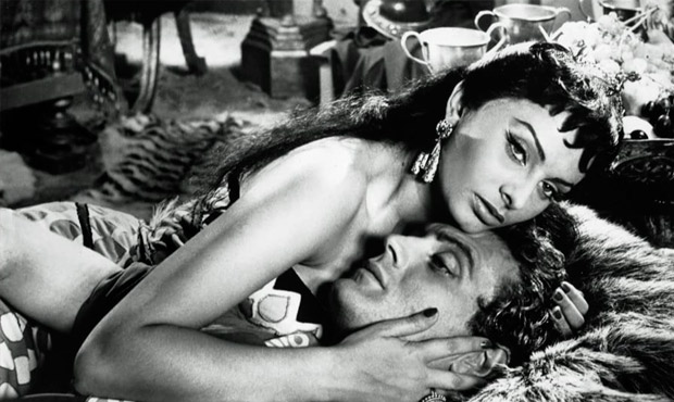 Sophia Loren Cleopatra 1954