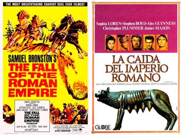 la caida del imperio romano 1964
