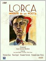 cartel Lorca, muerte de un poeta