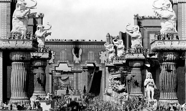 intolerancia Griffith 1916 babilonia