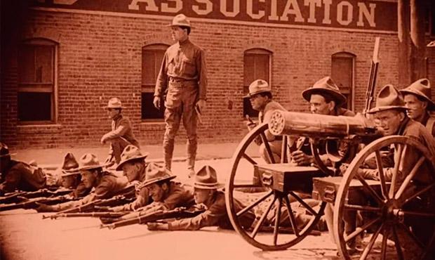 intolerancia Griffith 1916 huelgas 1912
