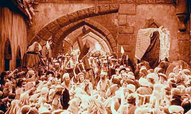 intolerancia Griffith 1916 pasion de cristo