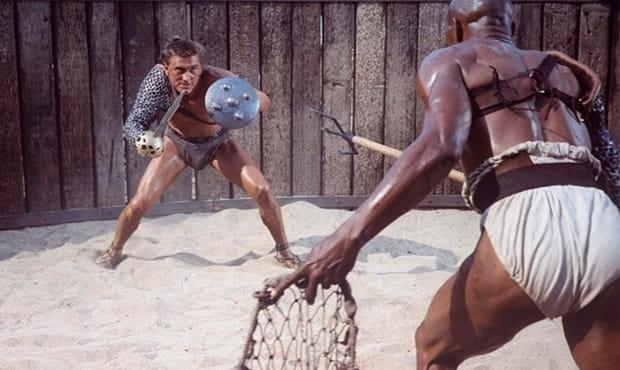espartaco contra draba 1960