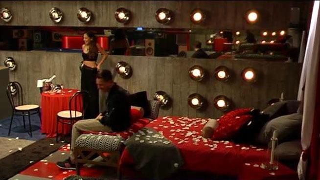 Carlos e Ivy, en su nidito de amor.