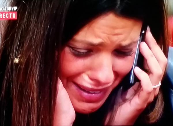 Laura, hablando con Jazztel. (TELECINCO)