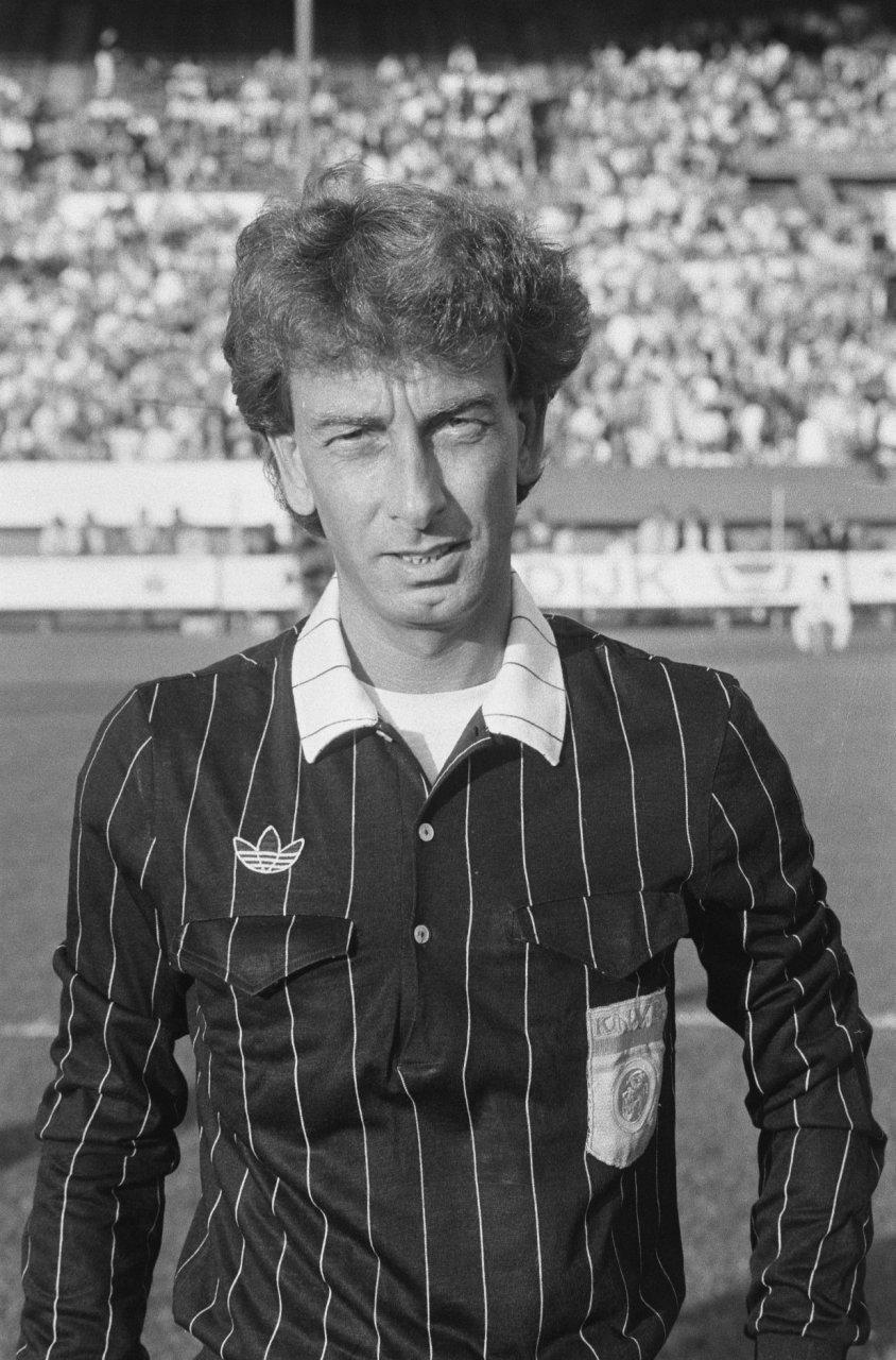 John Blankenstein, antes de un derbi de Rotterdam en 1986 (WIKIPEDIA).