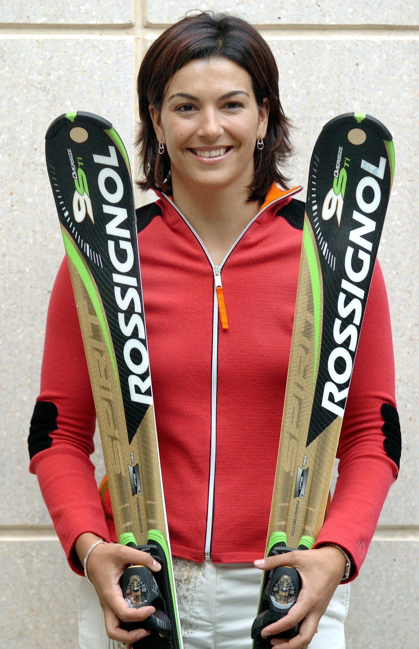 María José Rienda, antes de su participación en los Juegos Olímpicos de Invierno del 2006 en Turín (Archivo 20minutos).