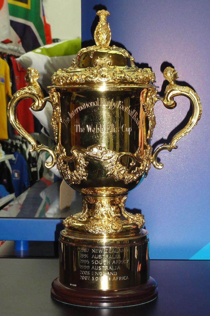 La Copa Webb Ellis (WIKIPEDIA).