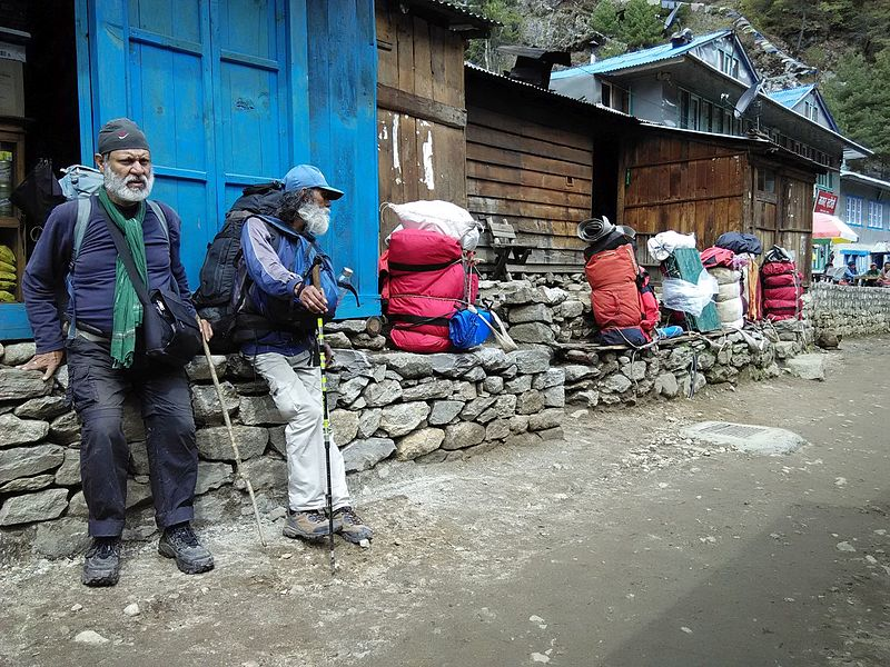 Una imagen del campamento base de la zona nepalí (WIKIPEDIA).