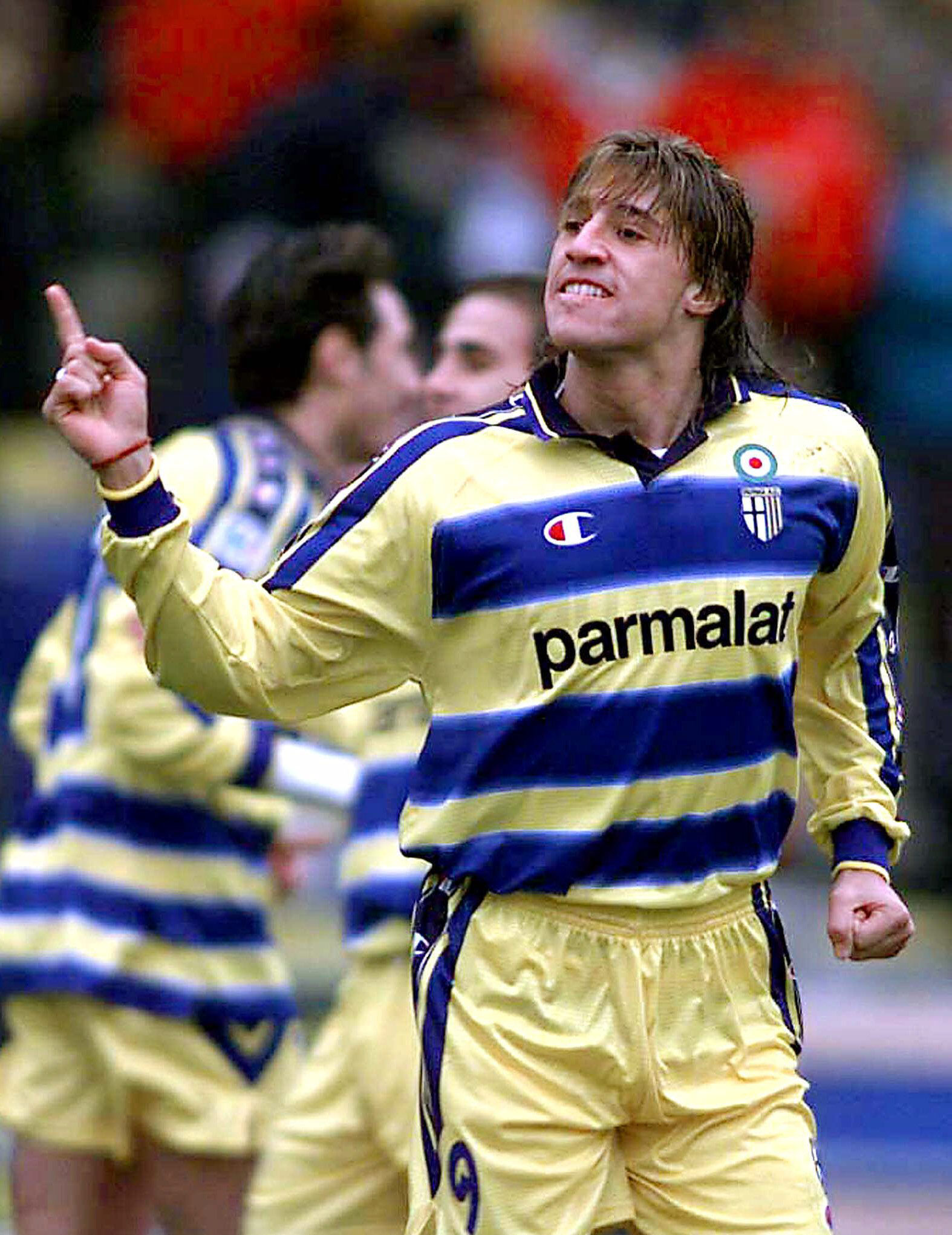 Crespo, en su primera etapa en el Parma (GTRES).