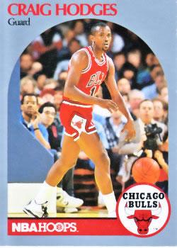 Cromo de Hodges en su época de los Bulls (NBA HOOPS).