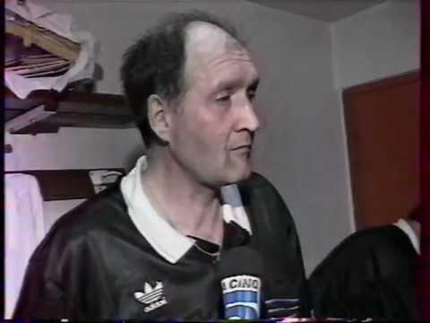 Vautrot, hablando con la prensa tras una final de Copa francesa (YOUTUBE).