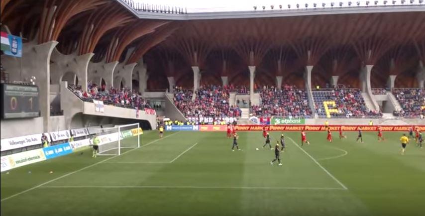 Una vista del Pancho Arena durante un partido (YOUTUBE).