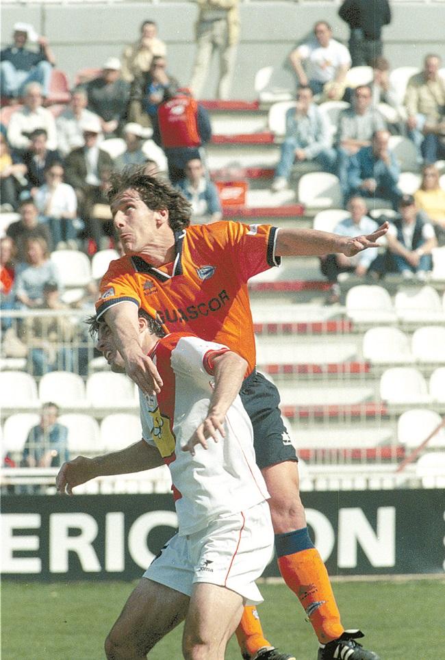 Téllez, en un partido del Alavés en Vallecas (Archivo 20minutos).