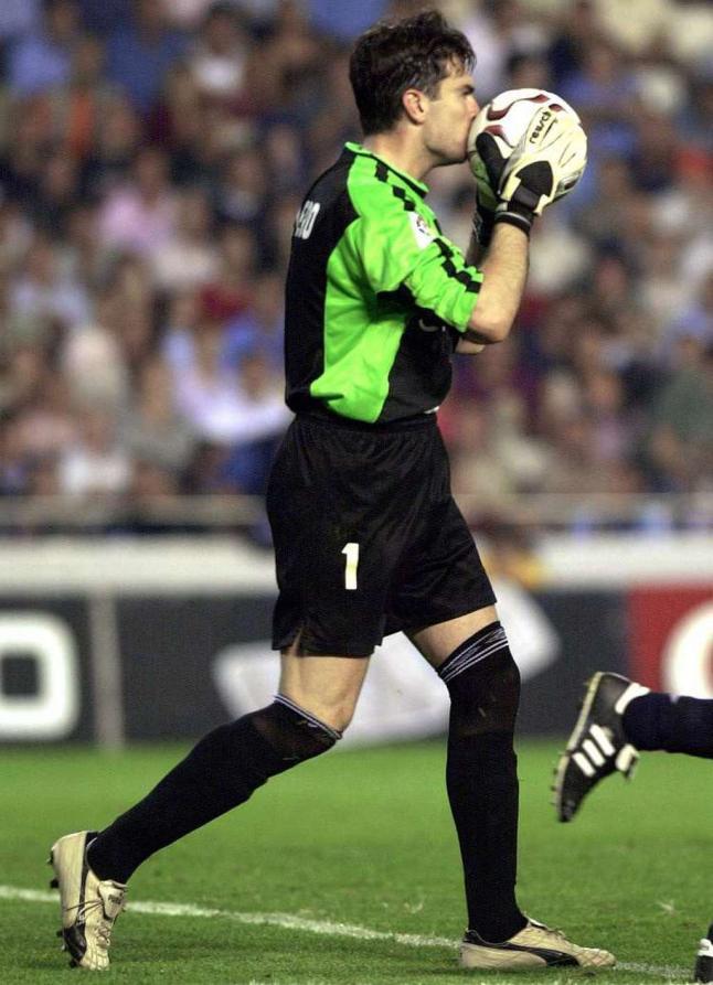 Cavallero, en un partido con el Celta (EFE).
