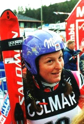 Kostelic, en 2001 (WIKIPEDIA).