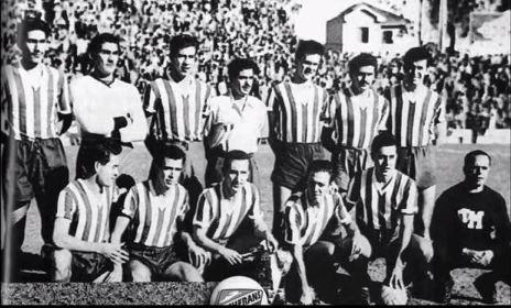 México, posando antes de jugar ante Suiza en 1950 (YOUTUBE).