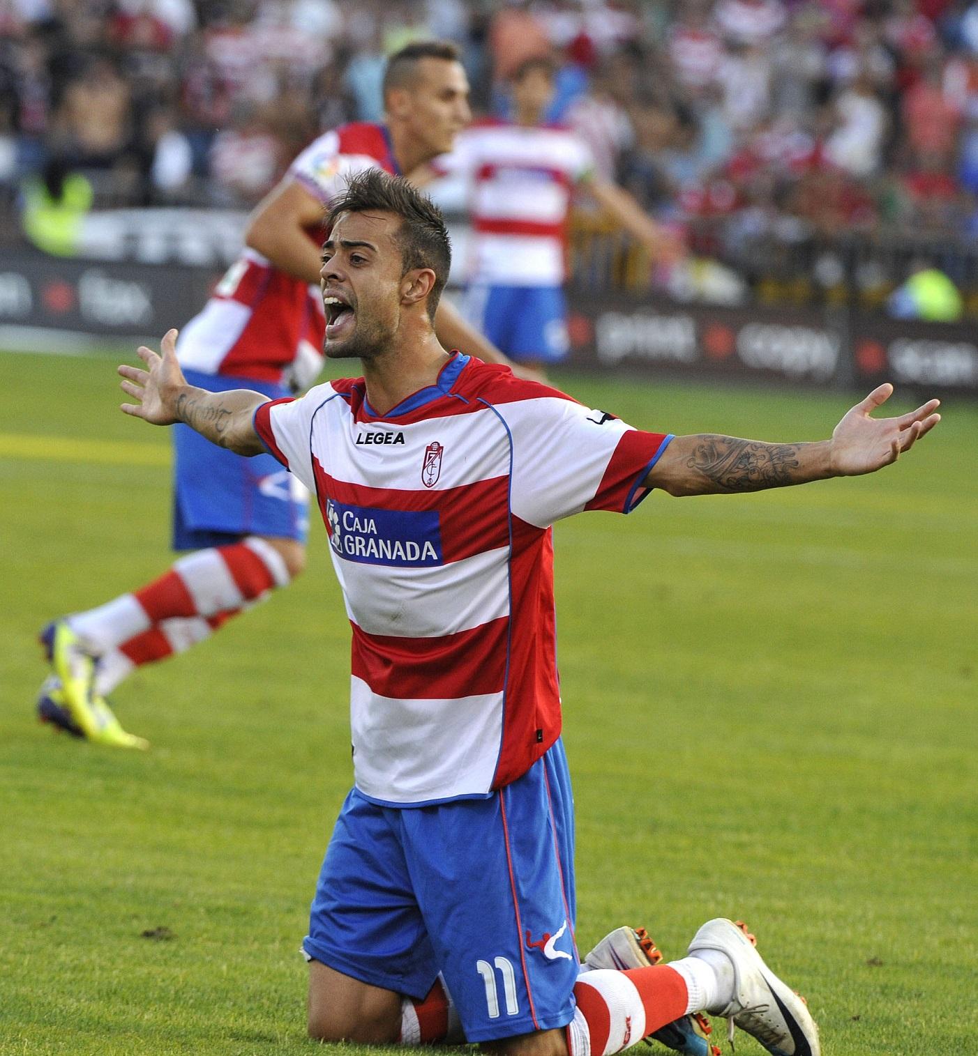Dani Benítez, en un partido de la temporada 2011/2012 (Archivo 20minutos).