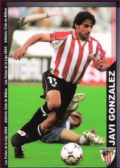 Cromo de Javi González (PANINI).