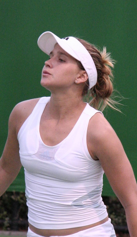 Ashley Harkleroad, en el Open de Australia de 2007 (WIKIPEDIA).