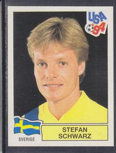 Stefan Schwarz, en un cromo del Mundial 94 (PANINI).