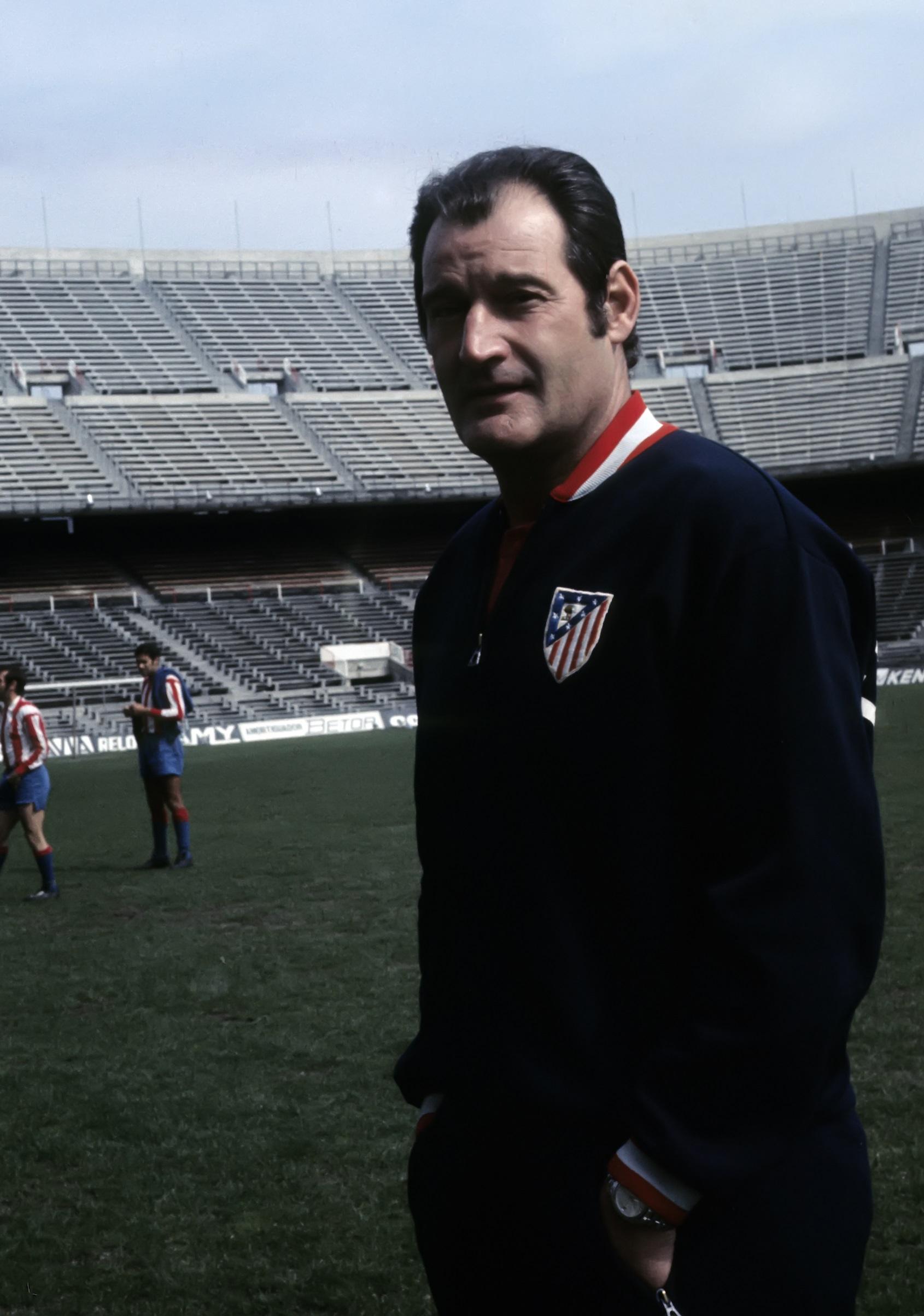 Marcel Domingo, en su primera etapa de técnico del Atleti (GTRES).